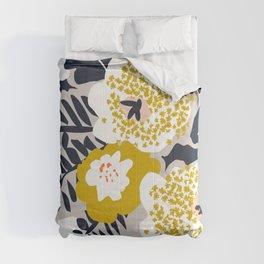 Scandinavian flowers greet you Comforters
