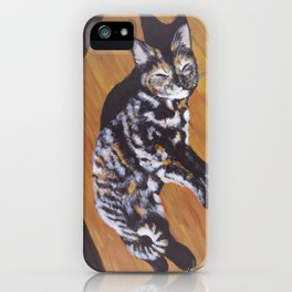 Contentment in a Patch of Sunlight (2015) iPhone Case