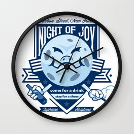Night of Joy Wall Clock