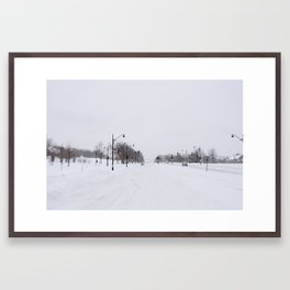Traffic Framed Art Print