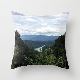 Great Smokey Mountains National Park Throw Pillow