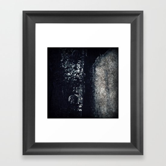 The old vest Framed Art Print
