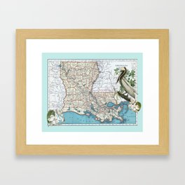 Louisiana Framed Art Print