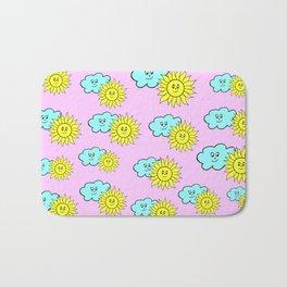Cute baby design in pink Bath Mat