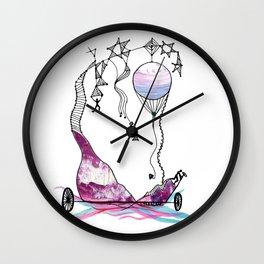 Viaje en Globo II Wall Clock