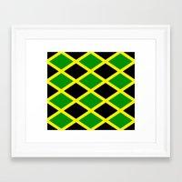 jamaica Framed Art Prints featuring Jamaica Jamaica Jamaica by cleopetradesign.com