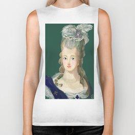 Marie Antoinette portrait Biker Tank