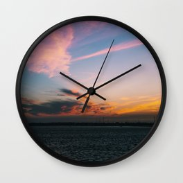Sun Set! Wall Clock
