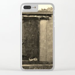 Old And Rusty Clear iPhone Case