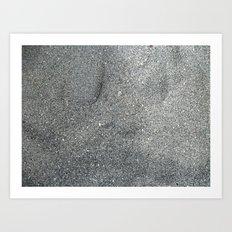 Sand Abstract Art Print