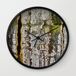 Moss Abstracted Wall Clock