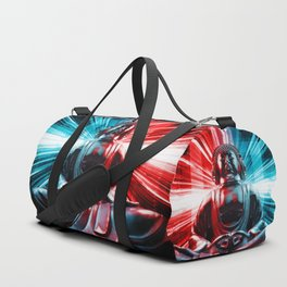 Techno Buddha Duffle Bag