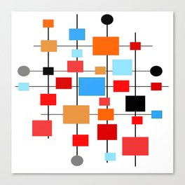 Mid-Century Modern Art 1.3.3 Canvas Print