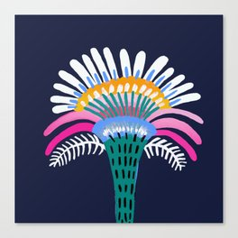 Zelestial Flower Canvas Print