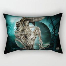 Dolls - Robot Shark Rectangular Pillow