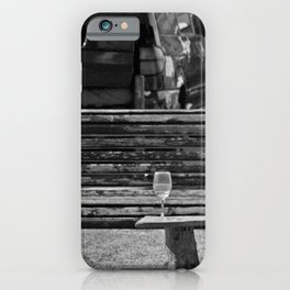 Somebody's glass of wine iPhone Case