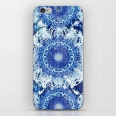 Blue Poppy Mandalas iPhone & iPod Skin