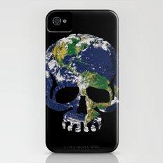 Skull Earth iPhone (4, 4s) Slim Case