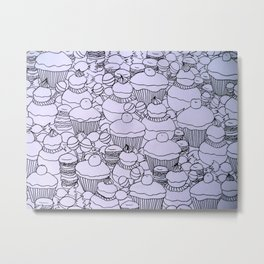 Cupcakes and co Metal Print