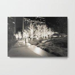 CHRISTMAS IN HOLLYWOOD - day three b&w Metal Print