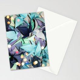 Senbazuru | shades of blue Stationery Cards