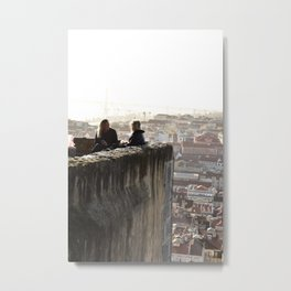 The view from the castle Metal Print
