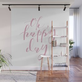 Pink Background 01 Wall Mural