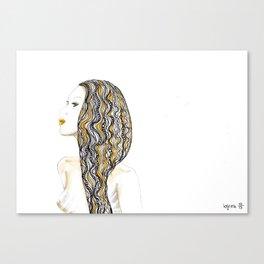 yellow rasta Canvas Print