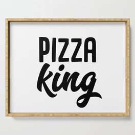 Pizza King Serving Tray