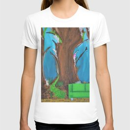 Fairy, Fairies. Abstract. Original Painting. Forest. Fantasy Forest. Fantasy. Jodilynpaintings. T-shirt