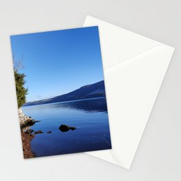 blue waters of Loch Ness Stationery Cards