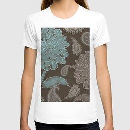 Cocoa Paisley I T-shirt
