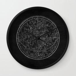 Vintage Celestial Map II Wall Clock
