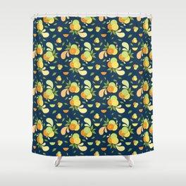 Citrus Splash Shower Curtain