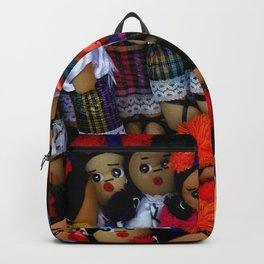 colorful dolls Backpack