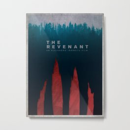 The Revenant (2015) Poster  Metal Print
