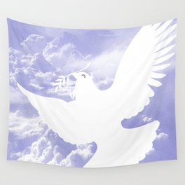 Peace All Over Wall Tapestry