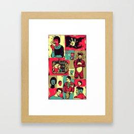 Random_things06.jpg Framed Art Print