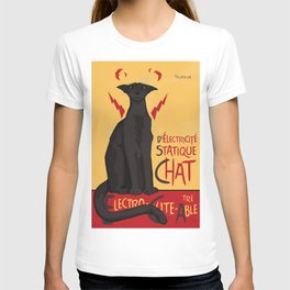d'Electricité Statique Chat [Staticat] T-shirt