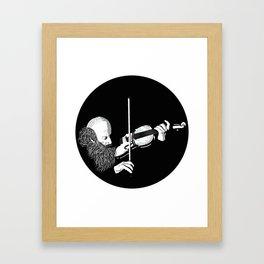 ·the violinist Framed Art Print