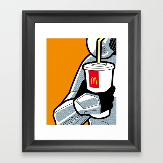 The secret life of heroes - StormDrink Framed Art Print