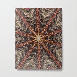 Crystal Web Metal Print