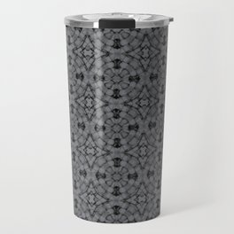 Sharkskin Geometric Pattern Travel Mug