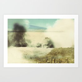 Bolivia/Peru Collaboration with Matt Shelley (Part one)  Art Print