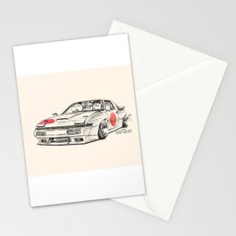 Crazy Car Art 0182 Stationery Cards
