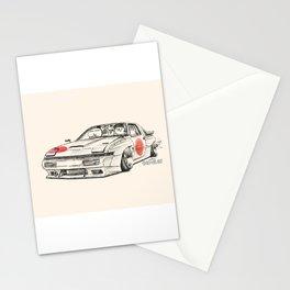 Crazy Car Art 0182 Stationery Cards