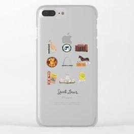 Saint Louis Clear iPhone Case