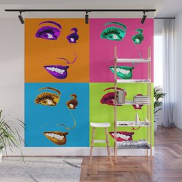 Cherilyn POP 4 Color Wall Mural