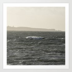 Distance To Groix Art Print