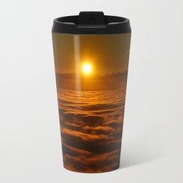 Above the Sky Sunrise Travel Mug